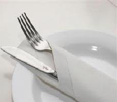 Cara Melipat Tisu Makan