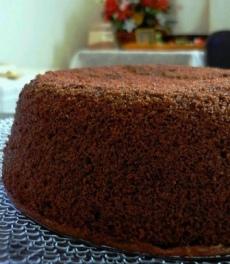 Sponge Cake Cokelat