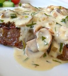 cara membuat saus steak putih