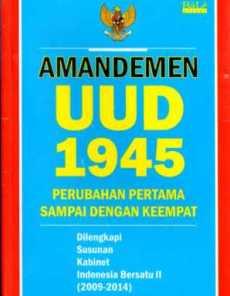 sistematika uud 1945 sebelum dan sesudah amandemen
