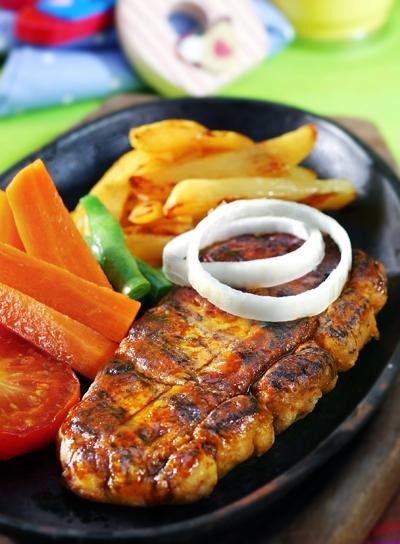 Cara membuat Steak Daging 10 Persen