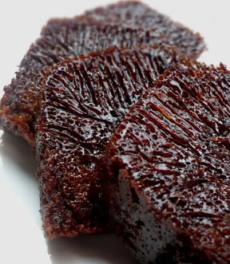 kue sarang semut karamel